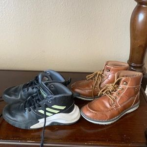 3/$10 Toddler Shoes Bundle Adidas and Boots
